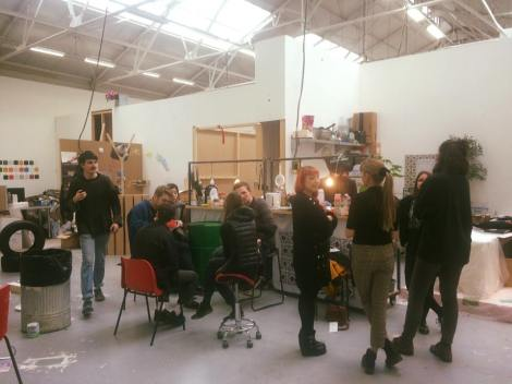 The Possible Rendezvous with Curating Contemporary Art students
